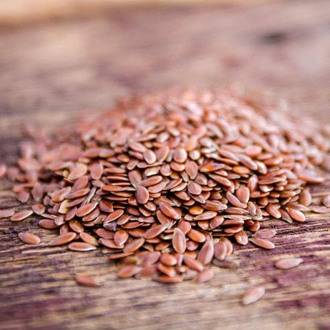 Organic Brown Flax Seeds EDLU - Kandarian Organic Farms