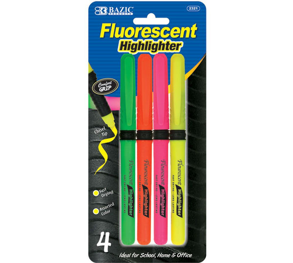 Highlighters 4ct. (Assorted)