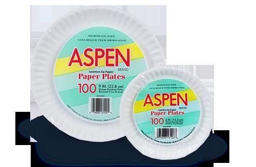 White Paper Plates 48ct.