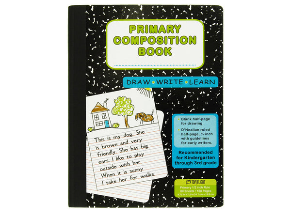 Primary Composition Book - Top Flight