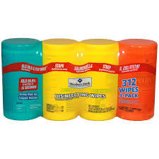 Disinfecting Wipes - Single