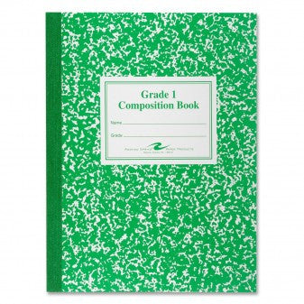 Composition Book Grade 1st-3rd