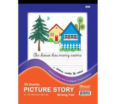 Picture Story Writing Pad