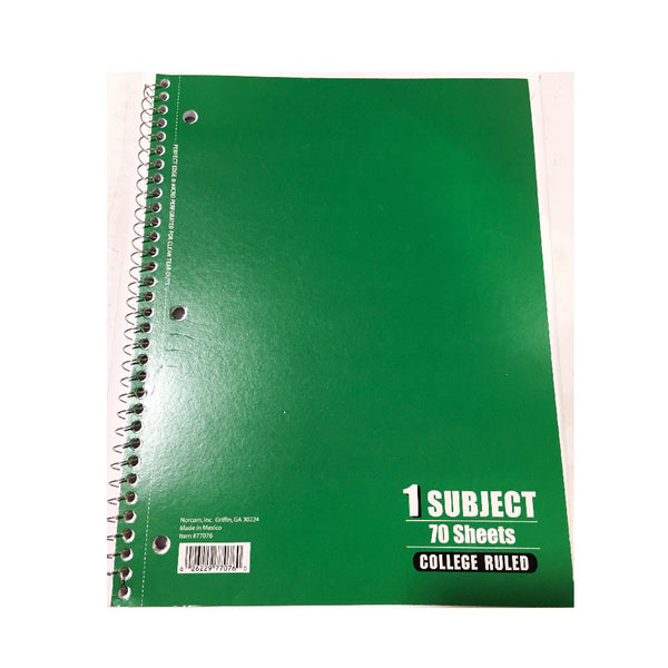 1-Subject Notebook (CR)