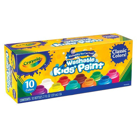 Kids' Paint 10ct. - Crayola