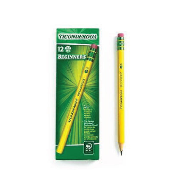 #2 Pencils 12ct. (Beginners) - Ticonderoga