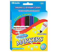 Washable Markers 8ct.