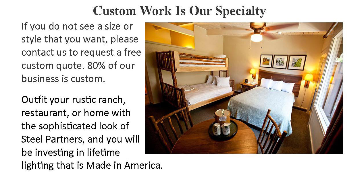 custom lighting, sconces, chandeliers, hospitality lighting, restaurant, assisted living, ADA compliant, UL Listed, Dark Sky