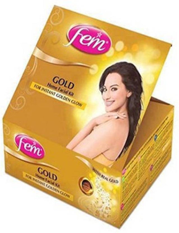 300g Fem Gold Facial Kit for instant glow