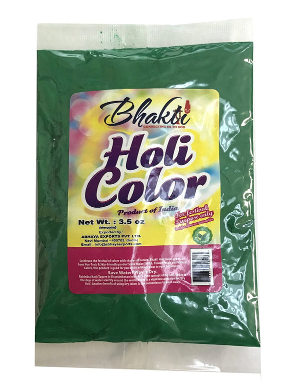 Zenia Holi Color Powder Green Colour Festival Colors (100g)