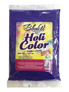 Zenia Holi Color Powder Violet Colour Festival Colors (100g)