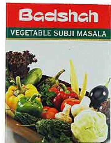 Badshah Vegetable Subji Masala 100g