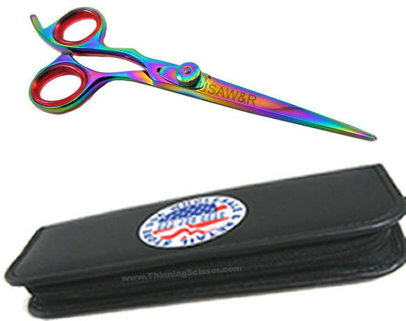 3LHT2 Left Hand Professional Titanium Hair Cutting Shears Scissor 6.5