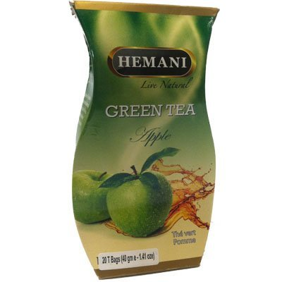 Hemani Green Tea Apple 40g