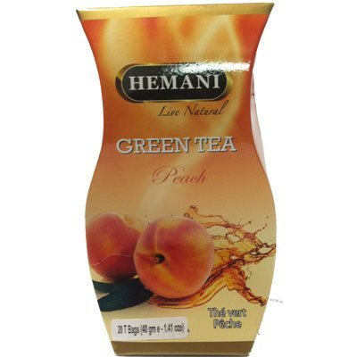 Hemani Green Tea Peach 40g