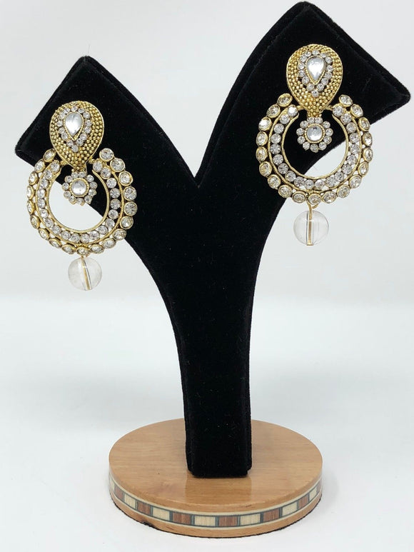 E17 Indian Jhumka Jewelry Earrings