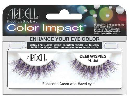 Ardell Color Impact Demi Wispies Plum Lashes #61477