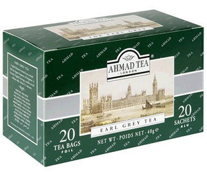 Ahmad Tea London Earl Grey Tea 20 Tea Bags