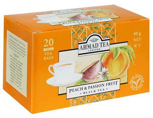 Ahmad Tea London Peach & Passion Fruit 20 Tea Bags
