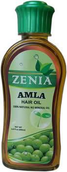 Zenia Amla Hair Oil 100% Natural No Mineral Oil 200ml - Zenia Herbal