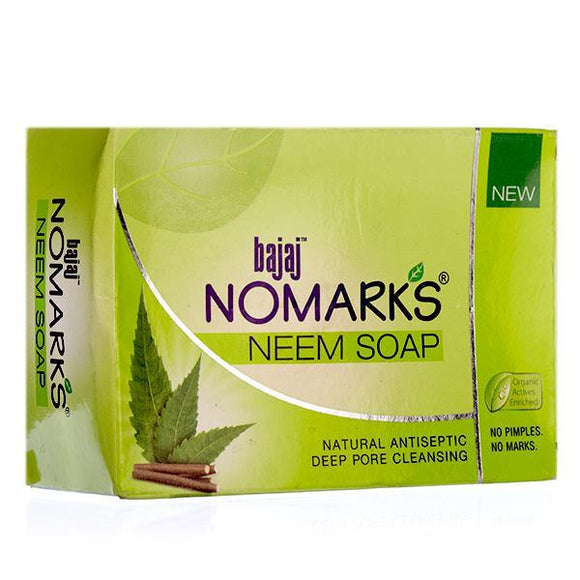 Bajaj Nomarks Neem Soap Bar 125g