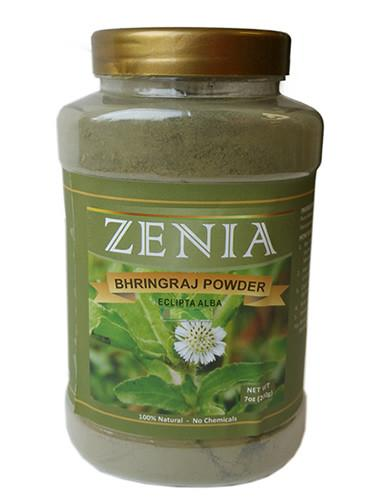 Zenia Bhringraj Powder Bottle - Zenia Herbal