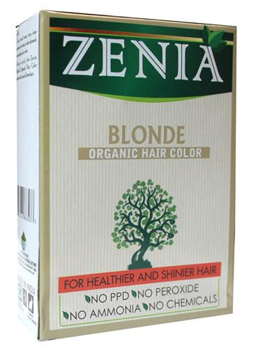 Zenia Organic Henna Hair Color Blonde 100g - Zenia Herbal