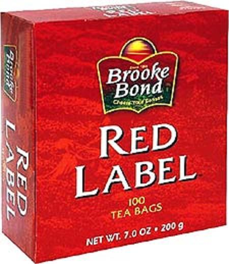 Brooke Bond Red Label Tea 100 Tea Bags