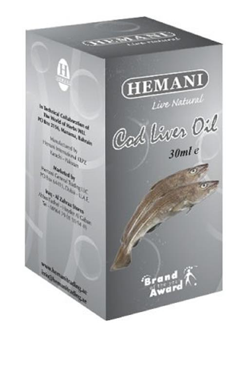 Hemani Cod Liver Essential Oil 30ml