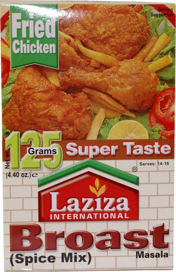 Laziza Broast Masala Spice Mix 125g