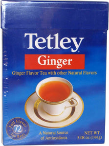 Tetley Ginger 72 Tea Bags - 144g