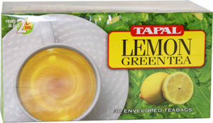 Tapal Lemon Green Tea 30 Tea Bags - 45g