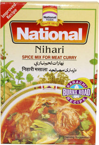 National Nihari Spice Mix For Meat Curry 100g