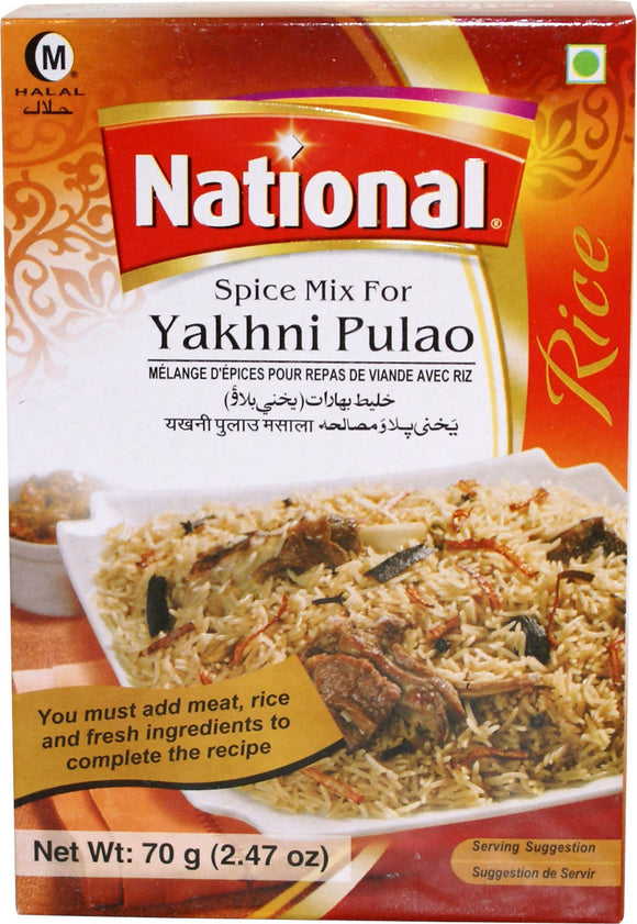 National Spice Mix For Yakhni Pulao 70g