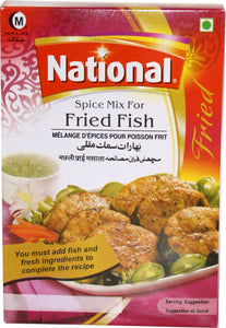 National Spice Mix For Fried Fish 100g