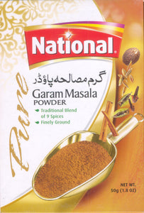 National Garam Masala Powder 50g