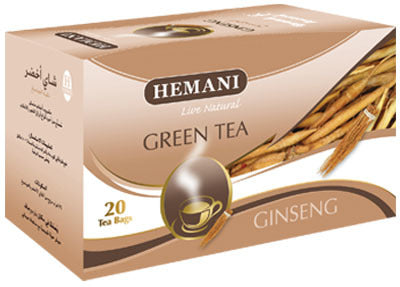 Hemani Green Tea Ginseng 40g