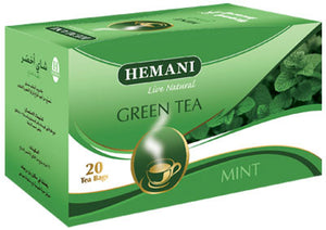 Hemani Green Tea Mint 40g