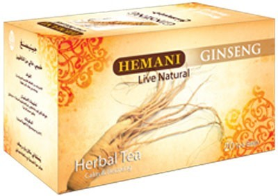 Hemani Herbal Tea Ginseng 40g