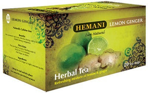 Hemani Herbal Tea Lemon Ginger 40g