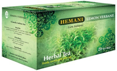 Hemani Herbal Tea Lemon Verbane Fresh 40g