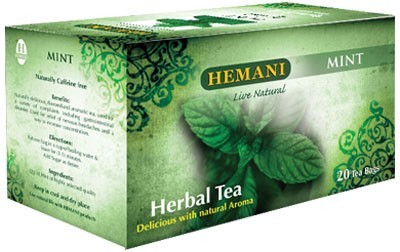 Hemani Herbal Tea Mint Delicious with Natural Aroma 40g