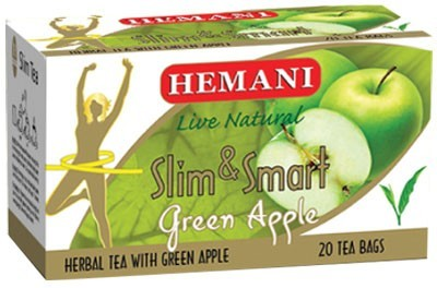 Hemani Slim & Smart Herbal Tea with Green Apple 20 Tea Bags