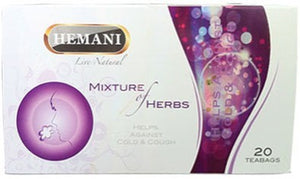 Hemani Mixture of Herbs Helps Against Cold & Cough 20 Tea Bags