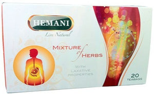 Hemani Mixture of Herbs 20 Tea Bags
