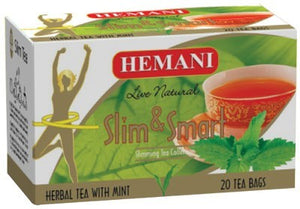 Hemani Slim & Smart Herbal Tea with Mint 20 Tea Bags