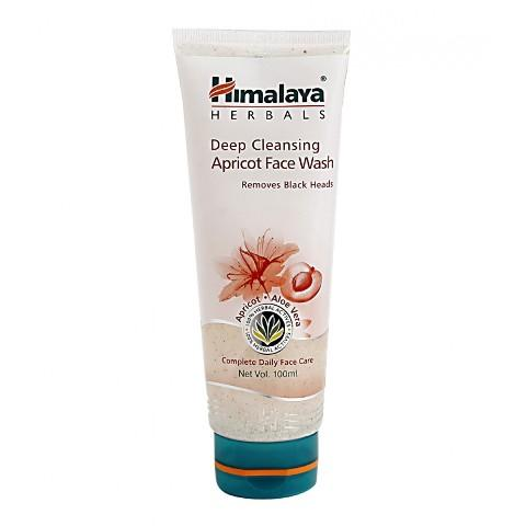 Himalaya Deep Cleansing apricot face wash