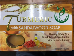 Turmeric & Sandalwood Soap 135g for natural glow on skin