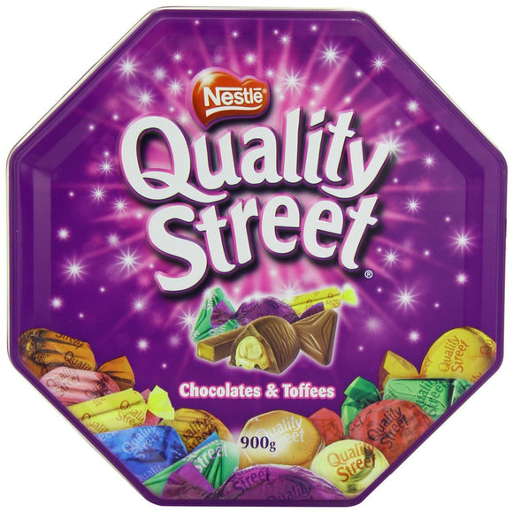 Nestle Quality Street Chocolates & Toffees 900g