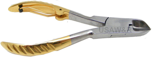 N2 - Professional Partially Gold Plated Nail Nipper